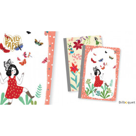 2 petits carnets Chichi - Papeterie Djeco