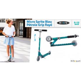 Micro Sprite Bleu pétrole - Trottinette 5-12 ans