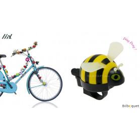 Sonnette de vélo Abeille jaune - Liix Funny Bell