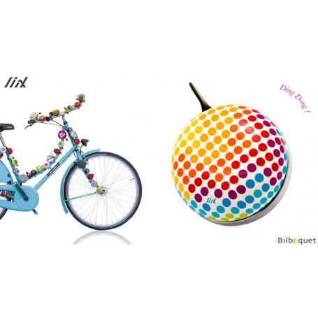 Sonnette de vélo Arty Dots - Liix Ding Dong Bell Ø80mm