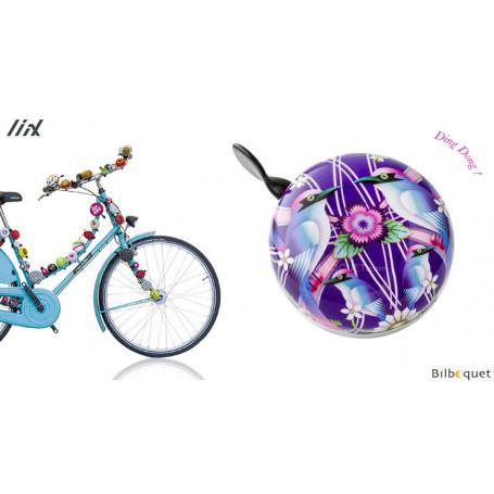 Sonnette de vélo Catalina Estrada Oiseaux - Liix Ding Dong Bell Ø80mm
