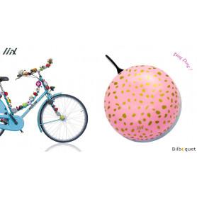 Sonnette de vélo Taches métalliques - Liix Ding Dong Bell Ø80mm
