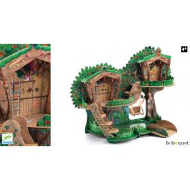 La maison des bois en carton POP TO PLAY