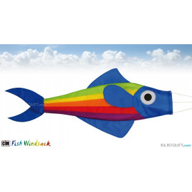 Manche à air poisson rainbow 91cm