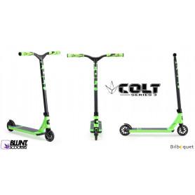 Trottinette freestyle Blunt - Colt S3 verte - Ados/Adulte