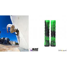 Poignées V2 vert/noir - Accessoire Trottinette - Blunt