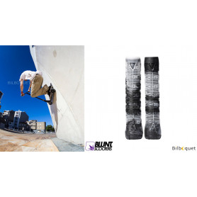 Poignées V2 blanc/noir - Accessoire Trottinette - Blunt