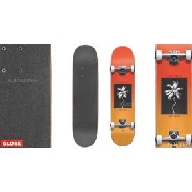 Skateboard Palm Off Mini Red Fade Dye
