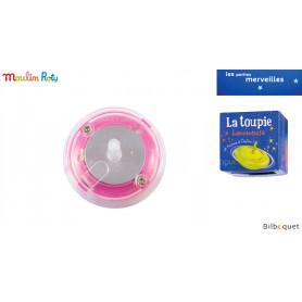Toupie lumineuse rose - Les petites merveilles