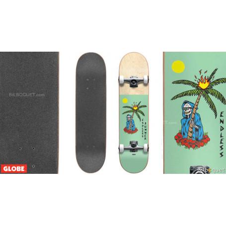 Skateboard enfant Endless Bummer Mid Seafoam/Natural