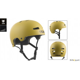 Casque TSG Evolution - Solid color - Satin Dark Buff