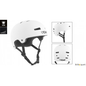 Casque TSG Evolution - Solid color - Satin White