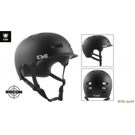 Casque TSG Recon - Solid color - Satin Black
