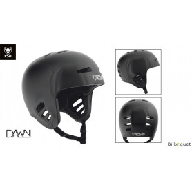 Casque TSG Dawn - Solid color - Black