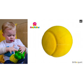 Balle sensorielle - Balle de tennis jaune - Rubbabu