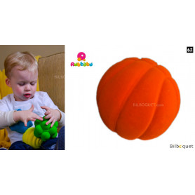 Balle sensorielle - Balle de basket orange - Rubbabu