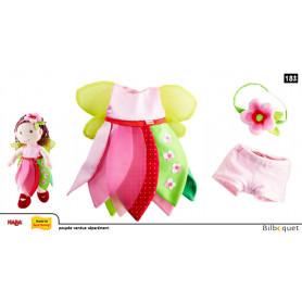 Ensemble de vêtements Fée aux fleurs - Accessoires pour poupées