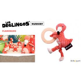 Flamingos Le flamant rose à machouiller - Déglingos Nursery