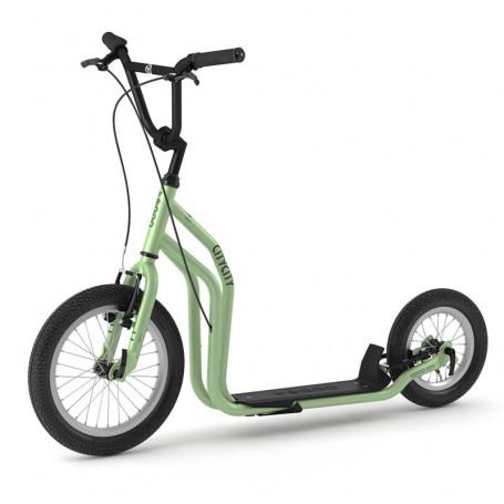 CITY RunRun trottinette ado/adulte 12+ GREEN
