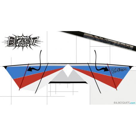 barre verticale extérieure 24 pouces (61 cm)