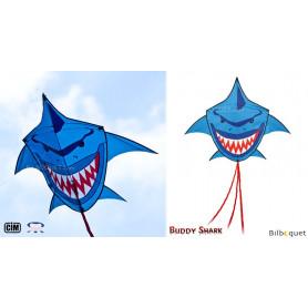 Cerf-volant monofil Requin bleu