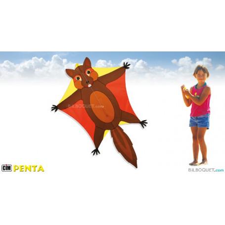 Cerf-volant monofil Penta écureuil volant