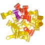 Croix centrale 6x6mm en couleur