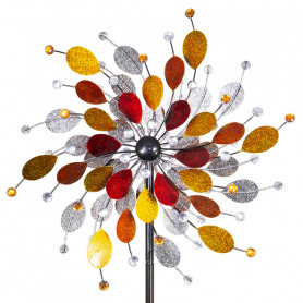 CIM Eolienne Métal Peint Kinetic spinner 61cm Jewel