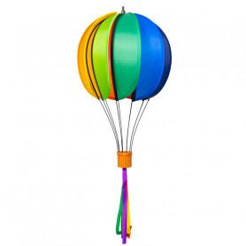 Ballon Satorn Globe Rainbow Ø23cm avec franges