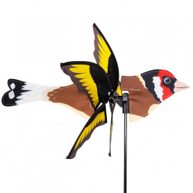 2 in 1 Windspinner - Stieglitz Bird