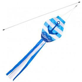 Wind sleeve Blue Maritim