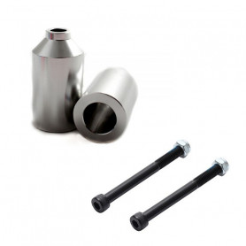 Alu Pegs set of 2 silver - Accessory for BLUNT scooter