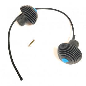 Bouchons de poignées pour Les trottinettes Micro - Pièce de rechange Micro