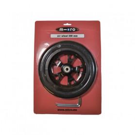 Roue 200 mm pour trottinette Micro Flex Air - Pièce de rechange Micro