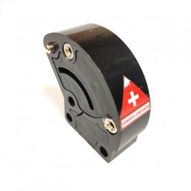 Bloc de pliage pour trottinettes micro White et black - Pièce de rechange Micro