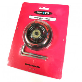 80 mm Rear Wheel for Mini and Maxi Micro Scooters Deluxe - Micro Spare Part