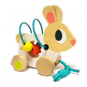 Mini loops White Rabbit - First Toy