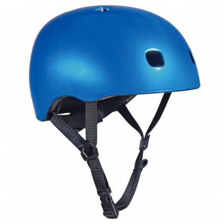Micro Helmet Dark Blue with Led - Size M