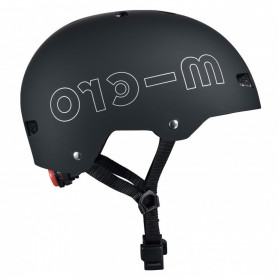 Micro Helmet Black with Led
