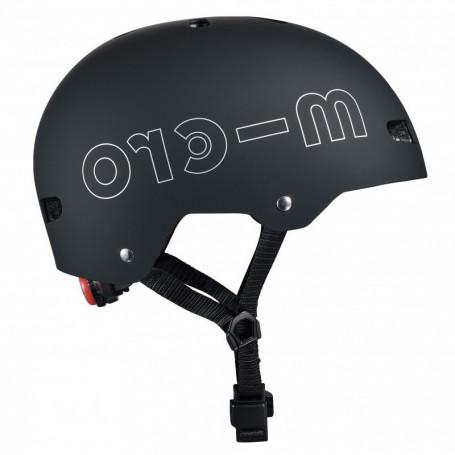 Micro Helmet Black with Led