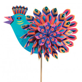 Windmill Paradise Bird