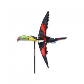 Toucan Bird Spinner - Outdoor decoration