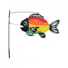 Swimming Fish Bright Rainbow - Outdoor decoration