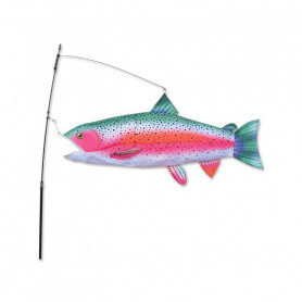 Swimming Fish Rainbow Trout - Outdoor decoration