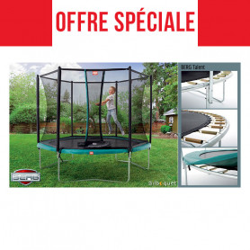 Trampoline BERG Talent avec filet de protection Confort