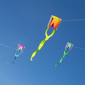 Single-line kite Pocket Flyer - Prism