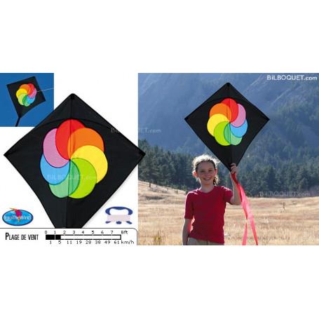 Cerf-volant de combat Hata Color wheel