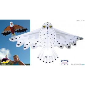Cerf-volant monofil Chouette blanche