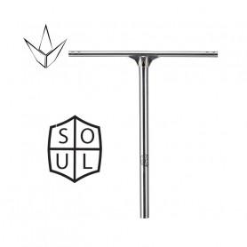 Bar Soul Ovesized Street Chrome 650mm - Blunt