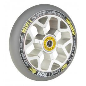 Roue Hardline x6 110 mm sewercaps  Chrome / Gris - eaggle supply